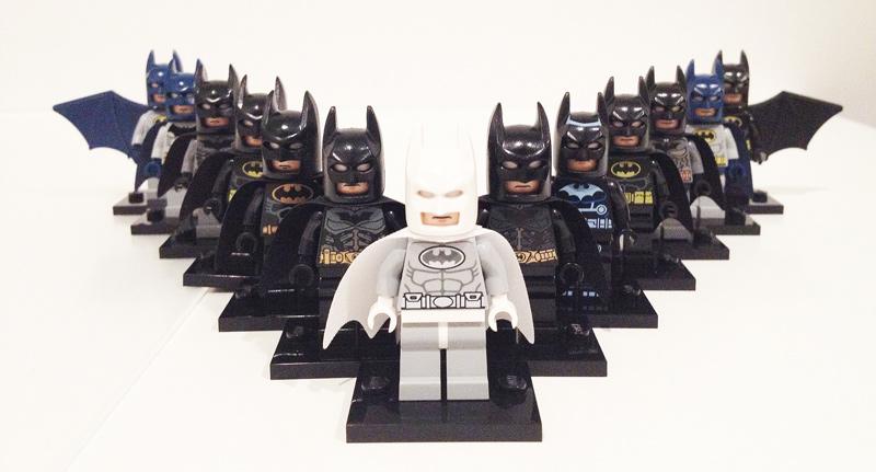 LEGO Batman minifigures collection