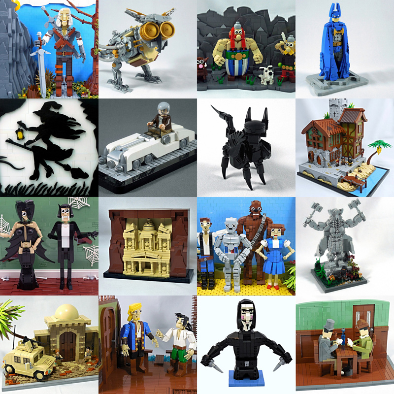 LEGO MOCs by vitreolum - Letranger Absurde