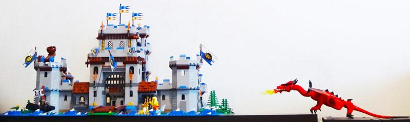 LEGO castle MOD MOC by Alex Tass