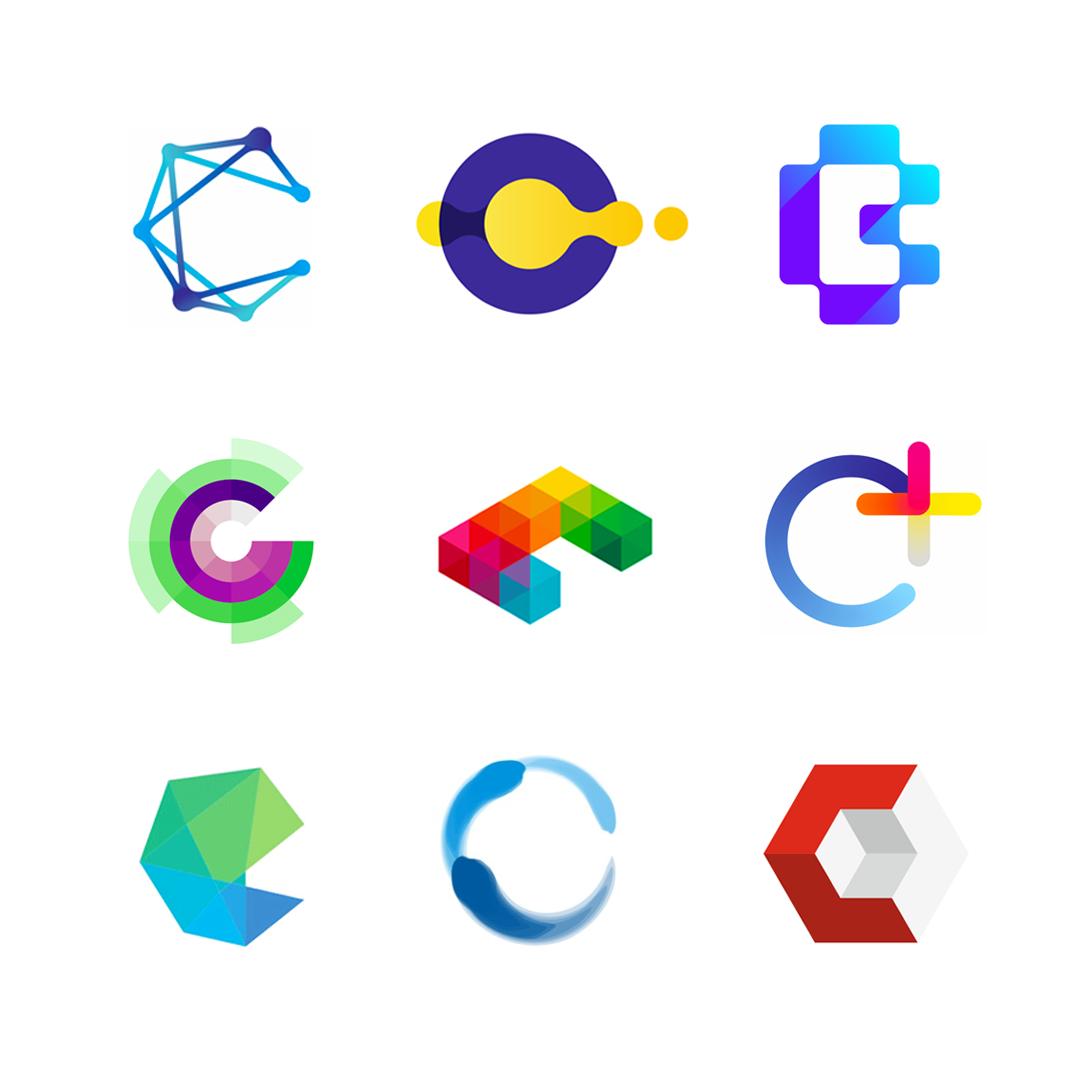LOGO Alphabet C letter mark monogram logomark icon logo design by Alex Tass