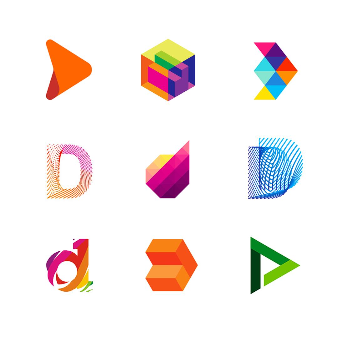 LOGO Alphabet D letter mark monogram logomark icon logo design by Alex Tass