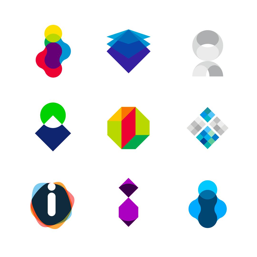 LOGO Alphabet I letter mark monogram logomark icon logo design by Alex Tass