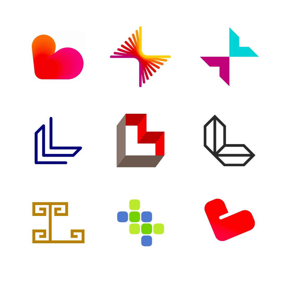LOGO Alphabet L letter mark monogram logomark icon logo design by Alex Tass