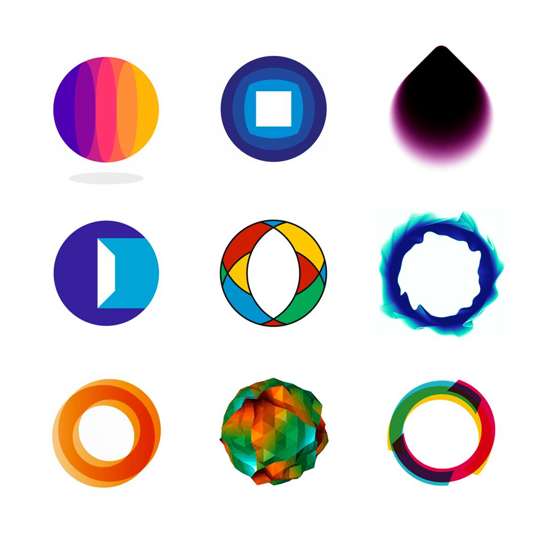 LOGO Alphabet O letter mark monogram logomark icon logo design by Alex Tass