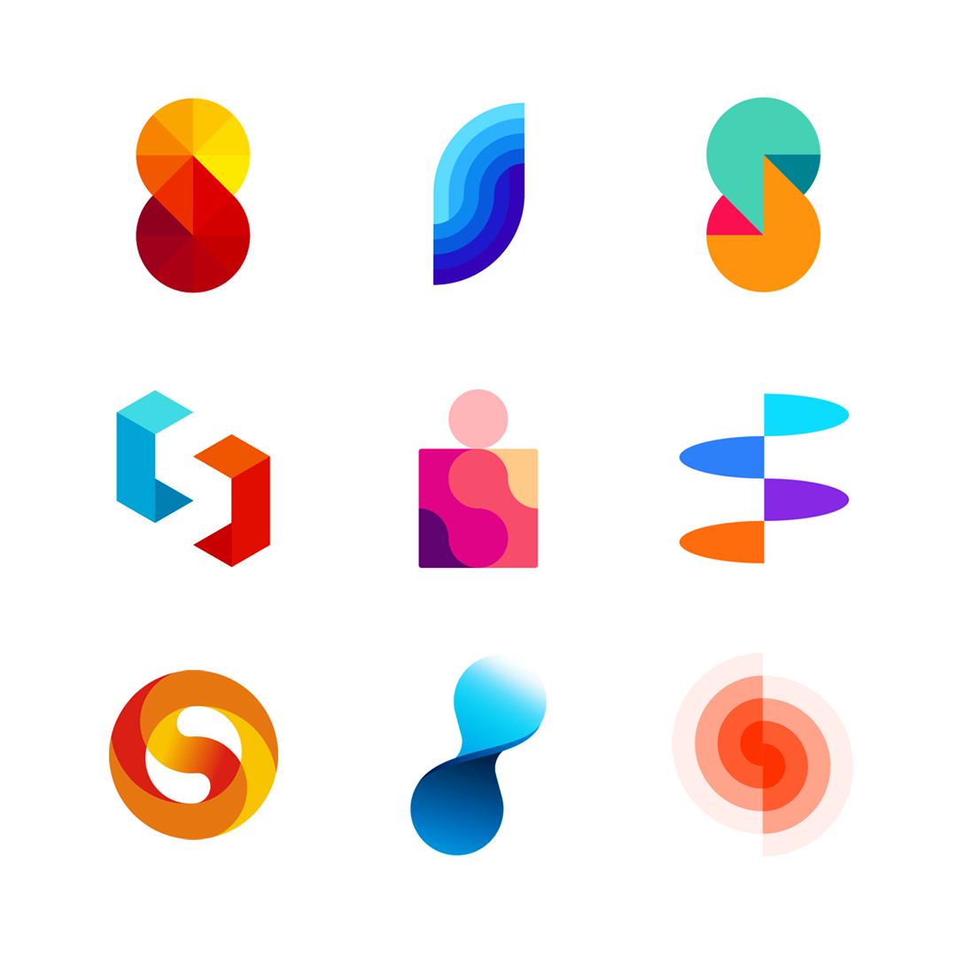 LOGO Alphabet S letter mark monogram logomark icon logo design by Alex Tass