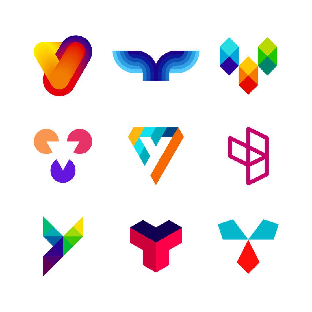 LOGO Alphabet Y letter mark monogram logomark icon logo design by Alex Tass