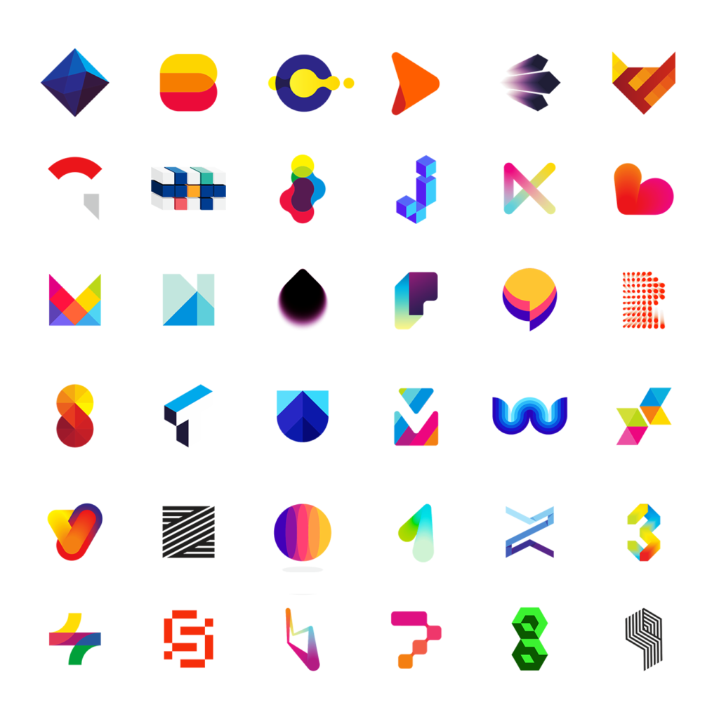 LOGO Alphabet letter marks monograms logomarks icons logo design by Alex Tass