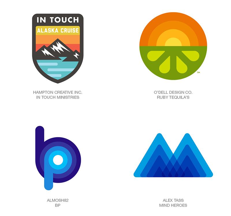 LogoLounge 2018 Logo Trends - Fatty Fade