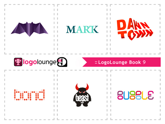 Logos selected featured in LogoLounge Logo Lounge 9 book designs by Alex Tass