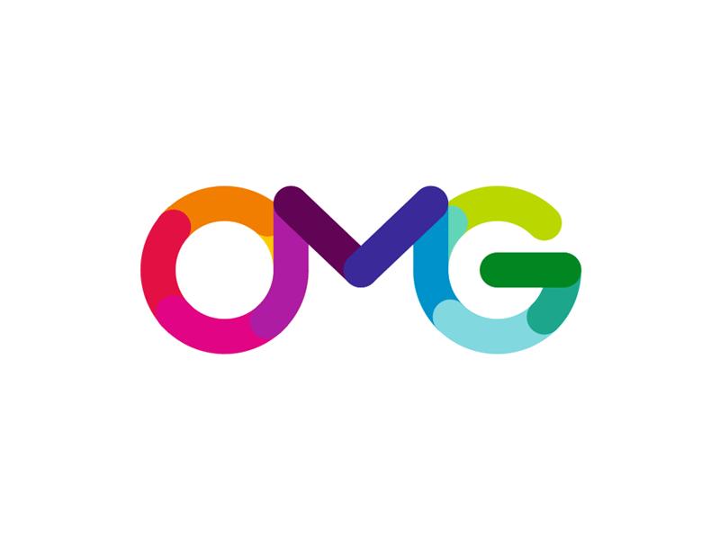OMG Oh My Guide! logo design by Alex Tass