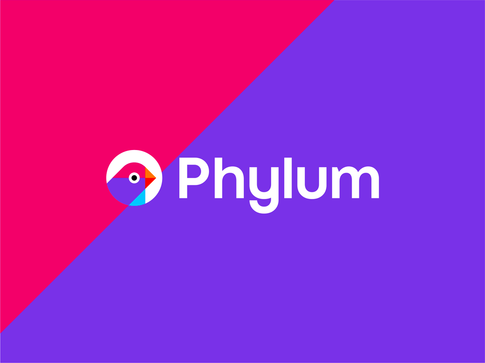 Phylum software composition components analytics finch logo design by Alex Tass