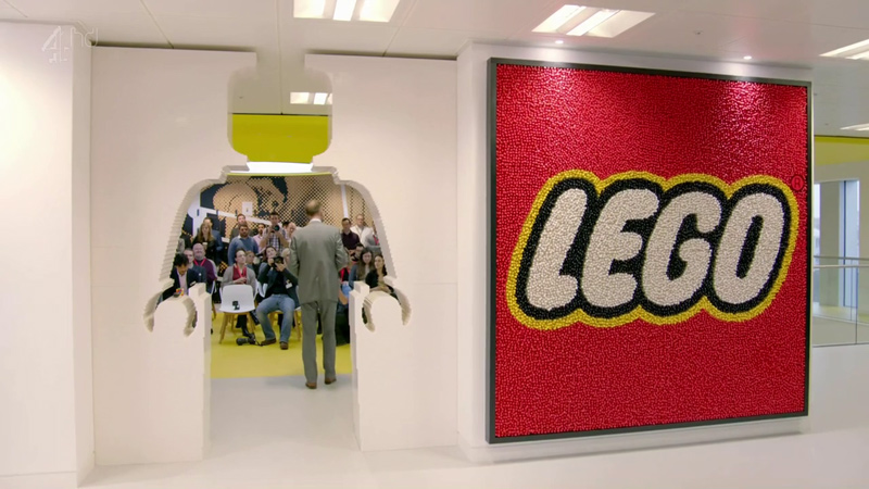 The Lego Group headquarters office