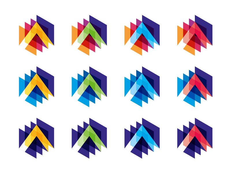 A letter mark monogram 3d scan scanning imaging imagery mass spectrometry data logo design by Alex Tass