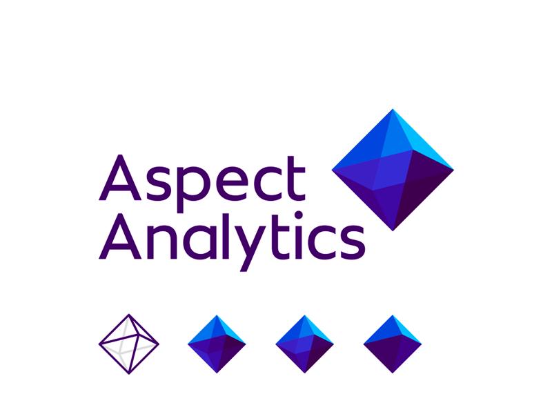 Aspect Analytics analysis of imaging mass spectrometry data logo design by Alex Tass