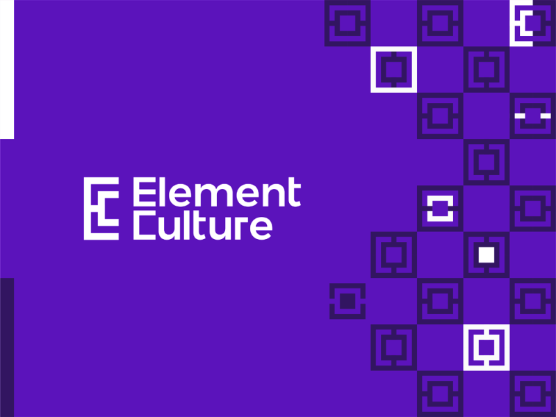 Element Culture, logo design for interior design company by Alex Tass