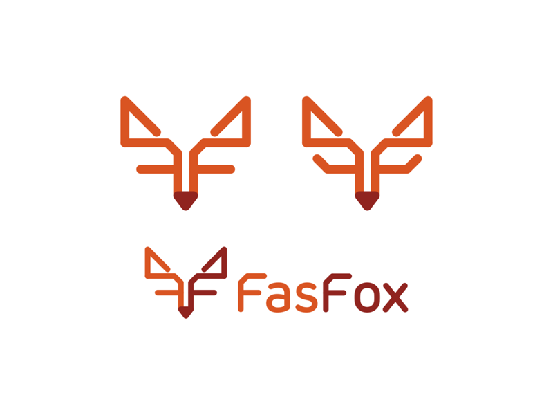Fox, FF monogram, logo design for technology consultant by Alex Tass