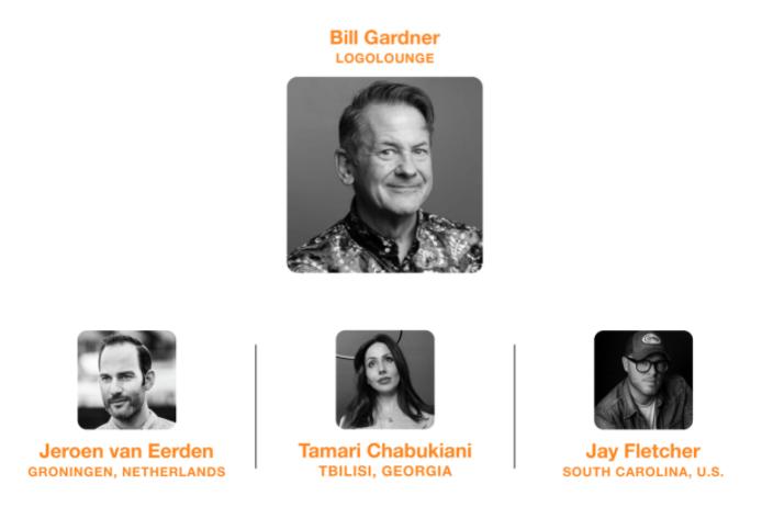 HOW Design Online × LogoLounge Bill Gardner, Jeroen van Eerden, Tamari Chabukiani, Jay Fletcher