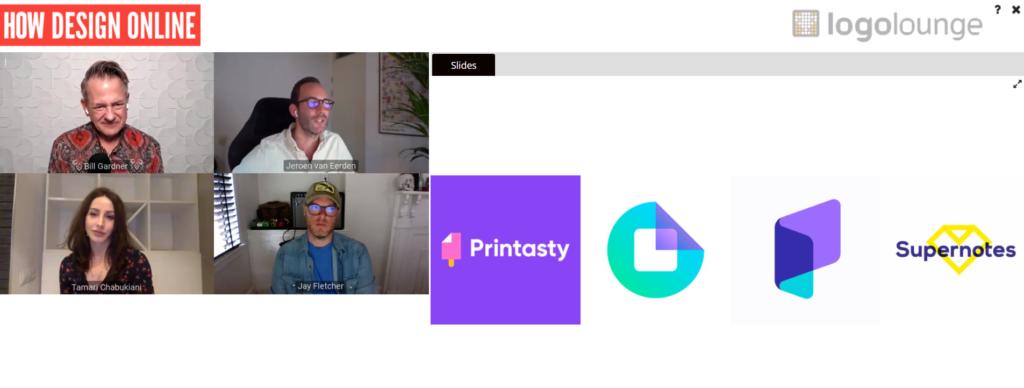 HOW Design Online × LogoLounge The 2021 Logo Trend Report online series screenshot 1