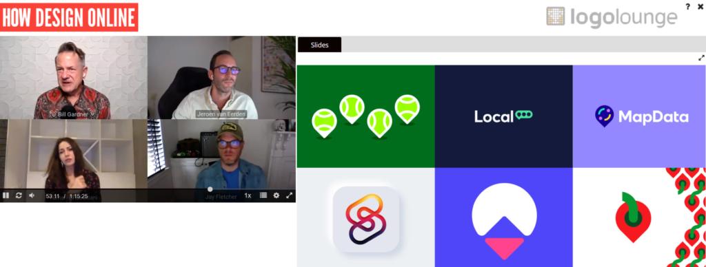 HOW Design Online × LogoLounge The 2021 Logo Trend Report online series screenshot 2