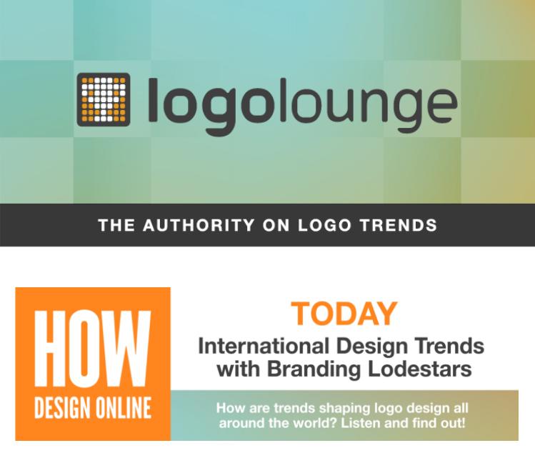 HOW Design Online × LogoLounge The 2021 Logo Trend Report online series