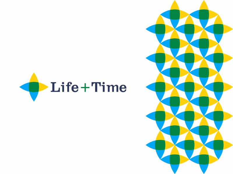 Life + Time, management app logo design, L + T monogram by Alex Tass
