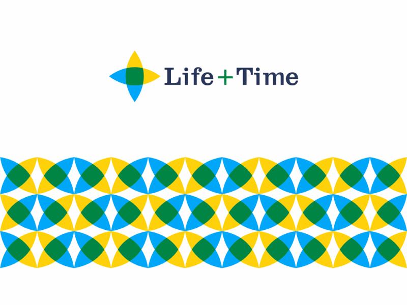 Life + Time, management app logo design, L + T monogram + eye by Alex Tass