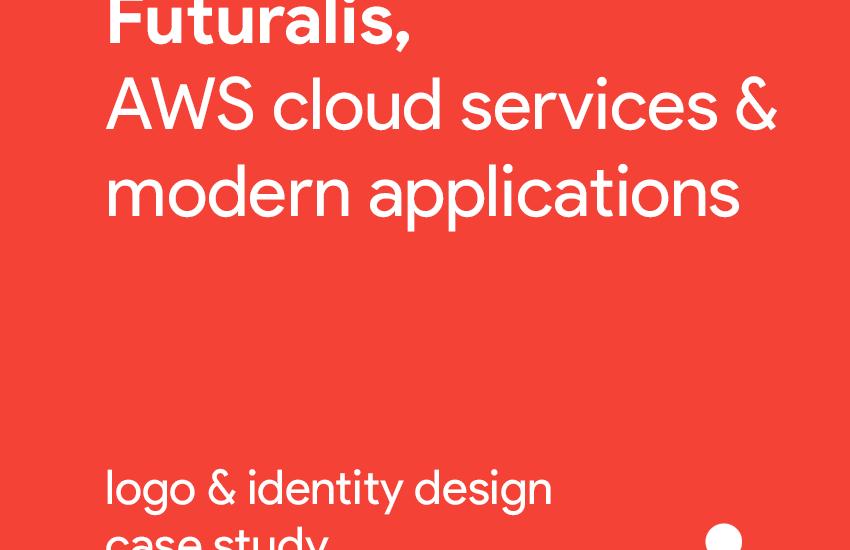 Futuralis logo brand identity AWS cloud services modern applications